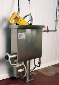 Sterilizer for saws and sears